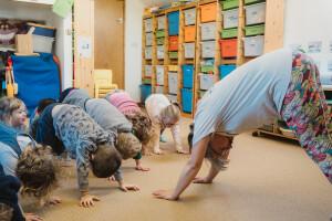 Yoga at Small World